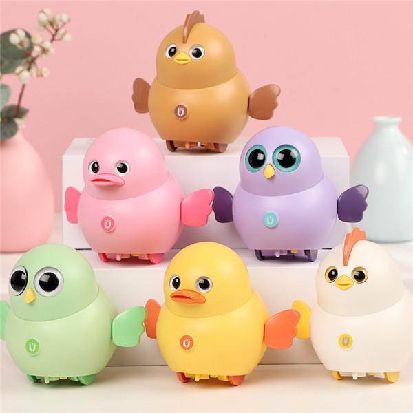 電動玩具車,電動搖擺磁性小雞,可愛小雞玩具
